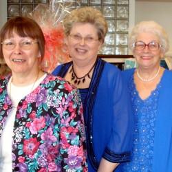Kathy Normandin, Nancy Battick and Jane Macomber