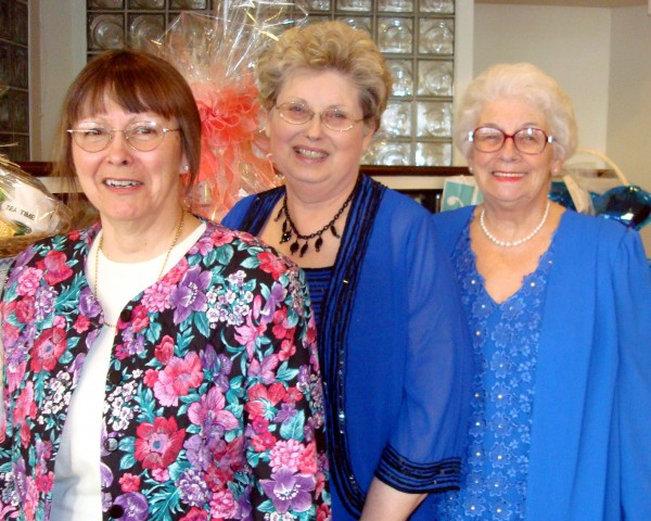 Kathy Normandin, Nancy Battick and Jane Macomber
