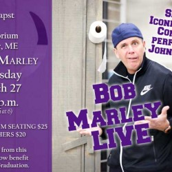 Comedian Bob Marley comes to John Bapst on Thursday, March 27.