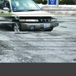 Maine's rocky roads