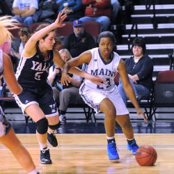Nalivaika again standing tall for UMaine women's basketball team