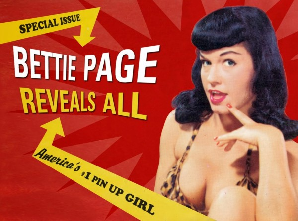 The film &quotBettie Page Reveals All&quot plays at The Grand on Tuesday, March 25th at 7:30 pm