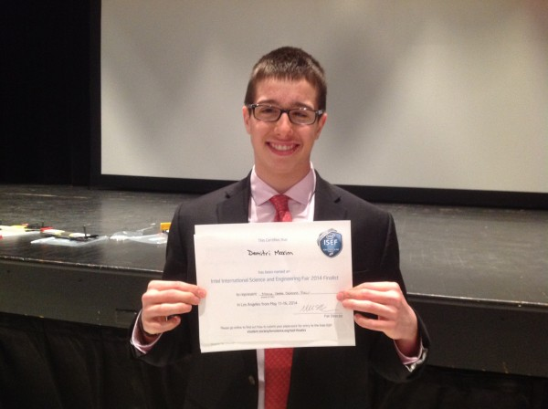 First place: Demitri Maxim, Gould Academy