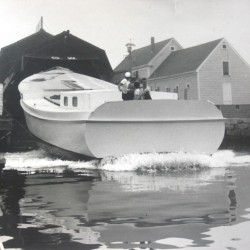 Homemade schooner to be kept as Kennebunk River 'landmark'