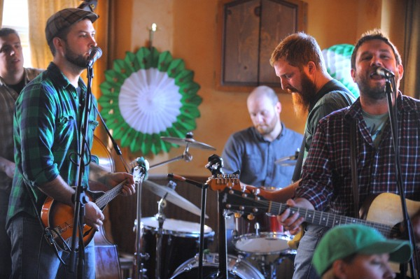 The Bangor-based band Bar Stuards started playing at 6 a.m. kicking off the all day live music at Paddy Murphy's on Saint Patrick's Day in Bangor Friday morning.