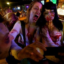 After recent gory incidents, online 'zombie' talk grows