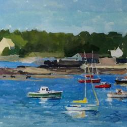 Judy Taylor painting