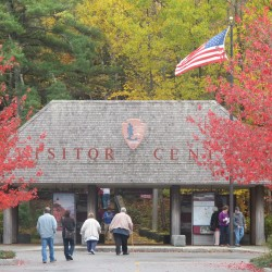 In rite of fall, Acadia closes visitor center