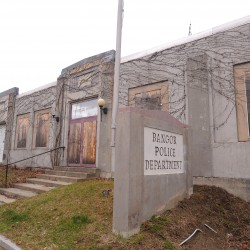 Bangor eyes future of former police station, while preventing Court Street collapse
