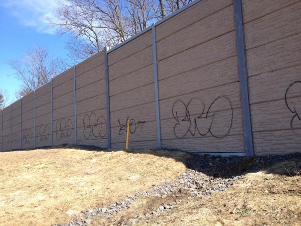 William O'Brien of Scarborough was issued a summons last week for allegedly vandalizing the sound barrier panels along Interstate 295 in South Portland last December.