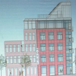 Five-story Rockland hotel application filed with revised parking