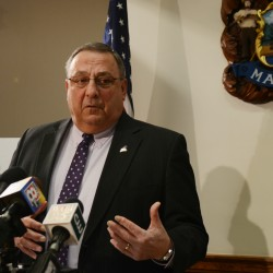 LePage vetoes Medicaid expansion, calls the effort 'ruinous' for Maine's future