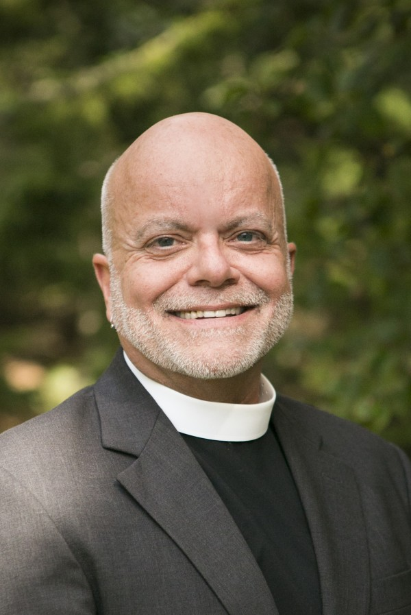 The Rev. Dr. William Barter, executive director of the Maine Council of Churches