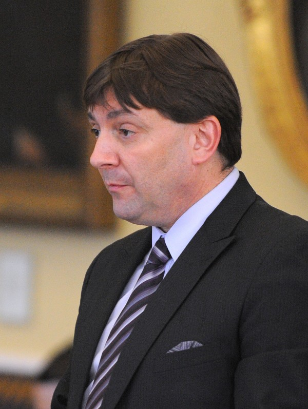 Senate Majority leader Troy Jackson