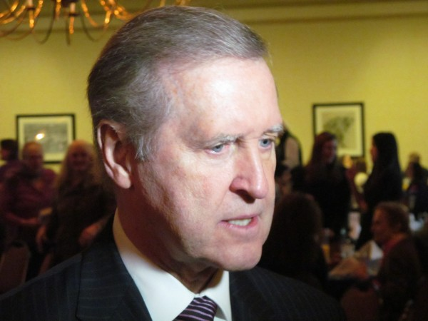 Former Defense Secretary William Cohen says he favors Jeb Bush in the 2016 presidential race. Cohen also said he fears other countries believe the U.S. is retreating from the foreign policy arena.