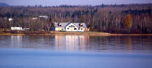 Robert Pelletier's home on Long Lake.