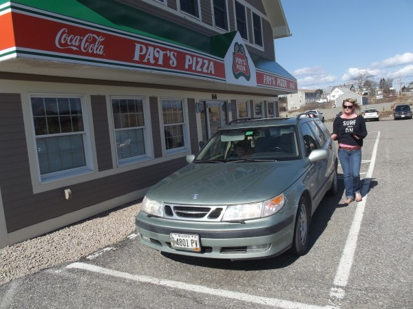 Traffic has resumed at Pat's Pizza in Machias since the restaurant reopened last week; the business was closed about a month due to a freak automobile accident.