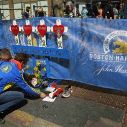 Thousands of runners finish final mile of Boston Marathon