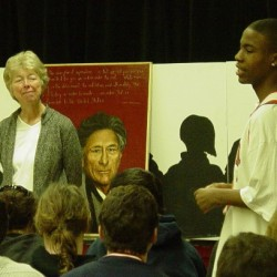 Visit to inner city school illuminates ongoing challenges of racial inequity