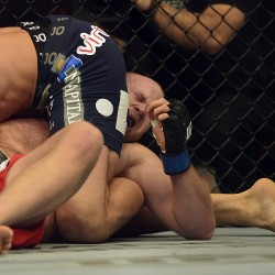 Wrestling skills help Maine native Boetsch win UFC bout