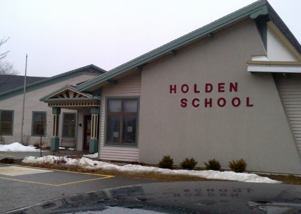 The Holden school as seen on Wednesday.