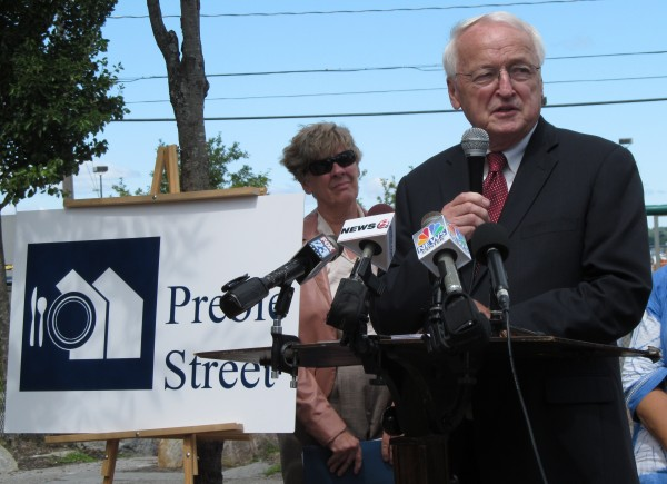 Kevin Concannon addresses reporters in this July 2012 file photo.