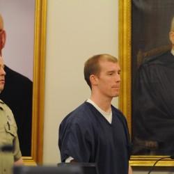 Half of jury pool selected for trial of 2 men accused of Bangor triple slaying