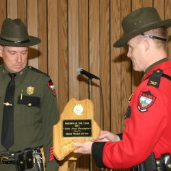 Martin named Maine Warden of the Year
