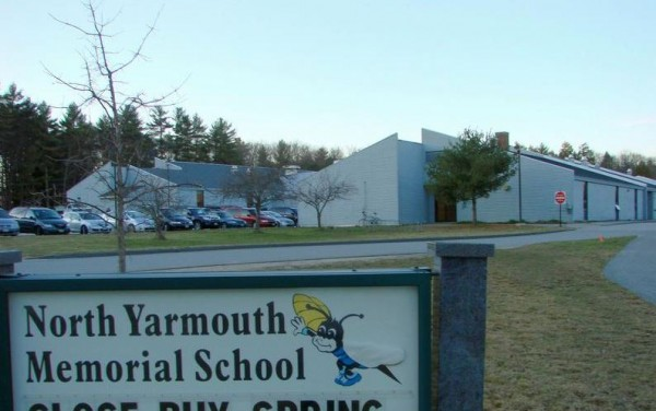 North Yarmouth Memorial School, shown here in a file photo from The Forecaster, could be closed if voters in the towns of School Administrative District 51 agree with a school board proposal.