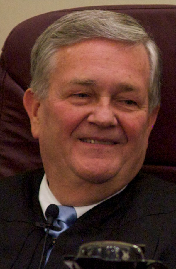 District Judge D. Brock Hornby in 2012.