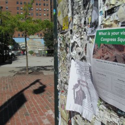 Judge will rule on lawsuit over Portland's Congress Square Park by noon Thursday