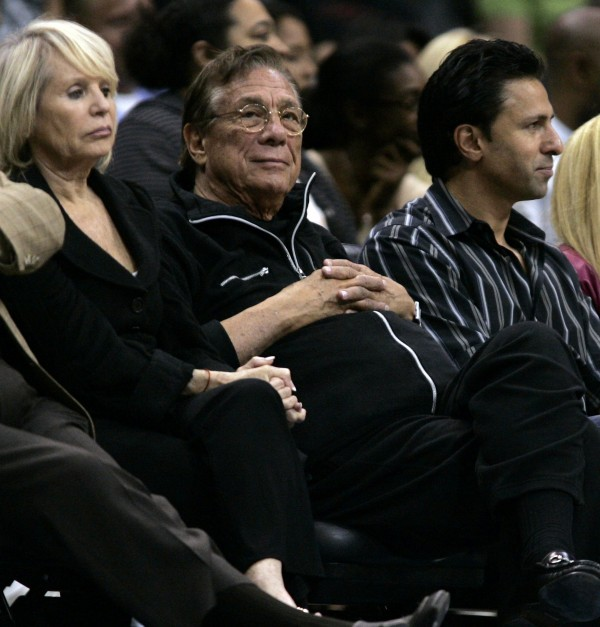Los Angeles Clippers owner Donald T. Sterling, in a 2008 file image, is being investigated by the NBA after an audio recording surfaced, with a voice attributed to Sterling, containing racist remarks.