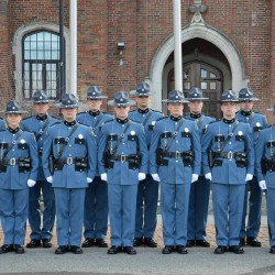 Eleven new state troopers graduate from Criminal Justice Academy