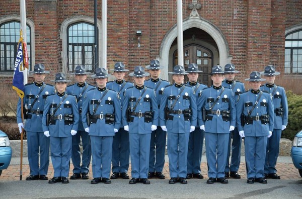 13 earn state police badges from Criminal Justice Academy