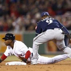 Overbay gets some revenge, lifts Brewers by Red Sox