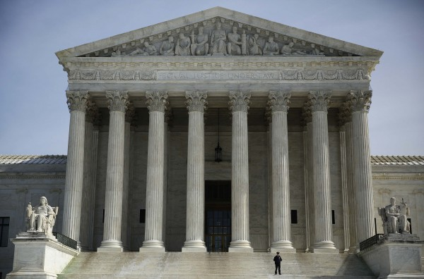 The exterior of the Supreme Court is seen in Washington recently.