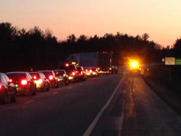 State police were dealing with a &quotmajor incident&quot on Interstate 95, a dispatcher said Sunday  night.