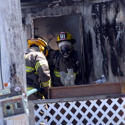 Investigators continue probe of Chester trailer fire in which woman's body was found