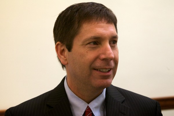 House Minority Leader Kenneth Fredette, R-Newport