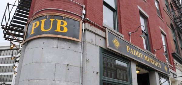Paddy Murphy's Pub is one of the businesses that will be affected by the upcoming construction project in West Market Square.