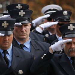 Boston mourns 2 firefighters killed in 9-alarm brownstone blaze