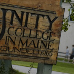 Unity College unveiling root cellar