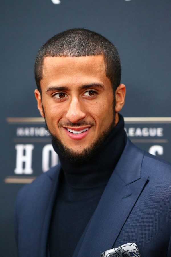 San Francisco 49ers quarterback Colin Kaepernick walks the red carpet prior to the NFL Honors at Radio City Music Hall on Feb. 1.