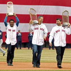 Triumphant Boston celebrates with World Series victory parade
