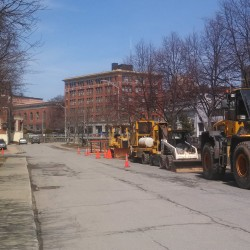 Patience required when driving through construction zones in downtown Bangor