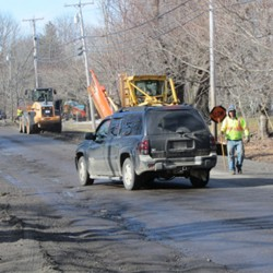 Rockland mulls bond for Old County Road repairs