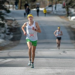 Bar Harbor police dispatcher gets second chance to finish marathon