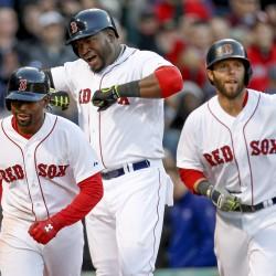 Ortiz's 3-run homer lifts Red Sox past Rangers