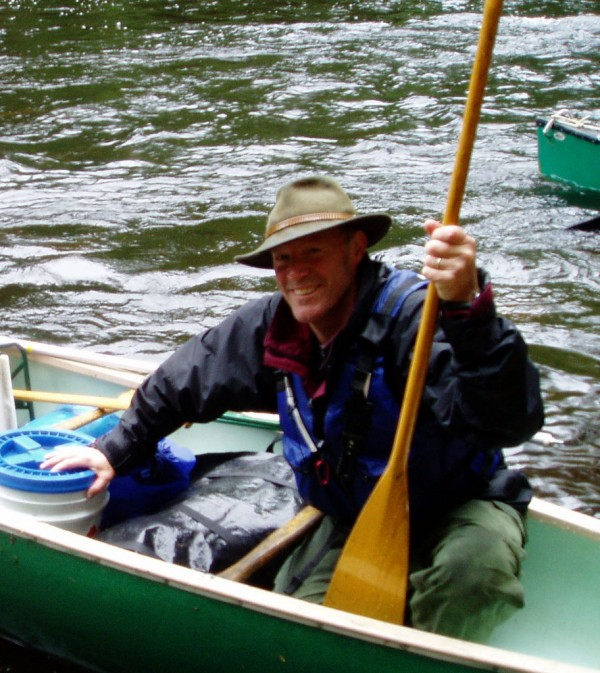 Matt Hopkinson of Hubbardston, Mass., will paddle, pole, portage and sail a canoe 125 miles upstream on the Penobscot River and tributaries in June. Hopkinson will use the trip to raise money for the Penobscot River Restoration Trust.