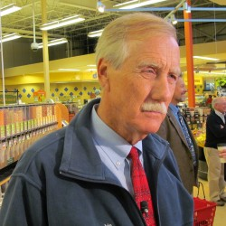 Angus King: If I'm elected, I'll put investments in blind trust